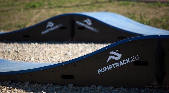 Modular pumptrack