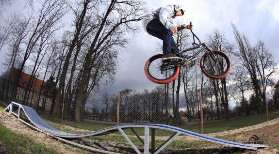 Circuito lúdico para bicicletas