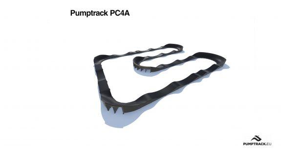 Pumptrack de composite PC4A