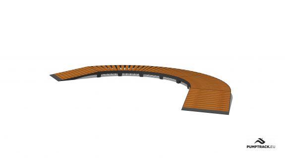 Pista para bicicletas - Larix W15