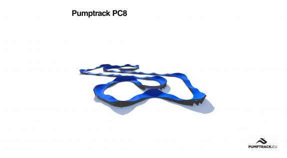 Pumptrack modular PC8